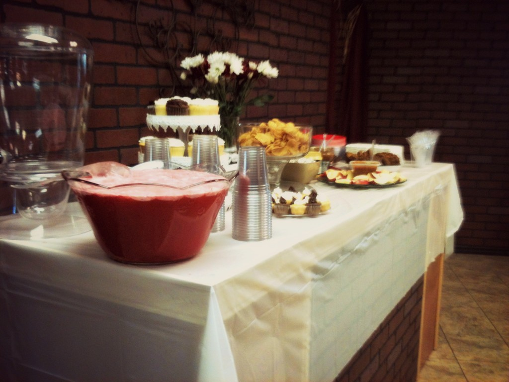 Yummy snack table!