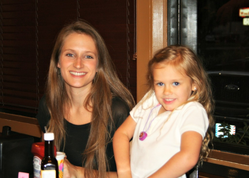 Sydney, and her beautiful Aunt Julia!