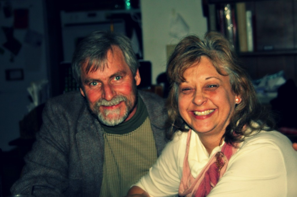 A quick picture of my wonderful parents!
