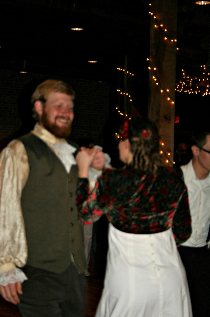 Grant and Kitty are such jolly dancing partners!