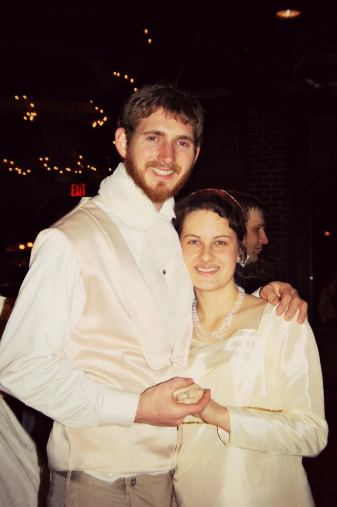 And another beautiful picture of my favorite married sister and brother-in-law!